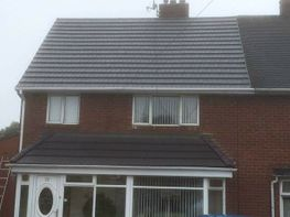 tiled and slate roof